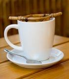 Una tazza di tè. Immagine Stock