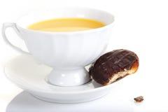 Una tazza di tè fotografie stock