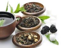 Assortimento sciolto del tè Immagine Stock