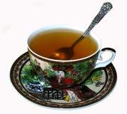 Una tazza di tè verde Immagine Stock
