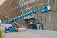 Una tecnica per gli impianti ad alta altitudine - ascensore Immagini Stock Libere da Diritti