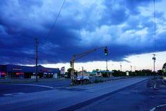 Una tempesta in Massachusetts immagini stock libere da diritti