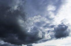 Una tempesta sta venendo Fotografia Stock Libera da Diritti