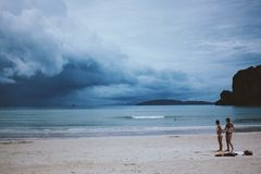 Una tempesta venente Fotografia Stock Libera da Diritti