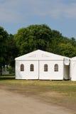 Una tenda di evento o del partito Fotografia Stock