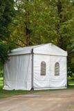 Una tenda di evento o del partito Fotografia Stock Libera da Diritti