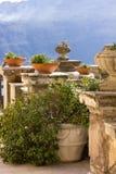 Una terraza vieja en Italia Fotografía de archivo libre de regalías