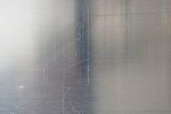Textura cepillada del metal Imagen de archivo libre de regalías