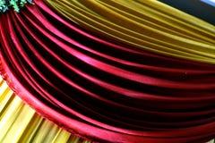 Una textura hermosa salida de las cortinas imagenes de archivo