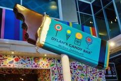 Una tienda de Dylan Candy Bar imágenes de archivo libres de regalías