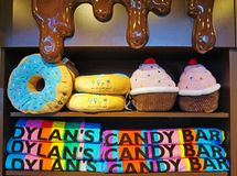 Una tienda de Dylan Candy Bar imagen de archivo libre de regalías