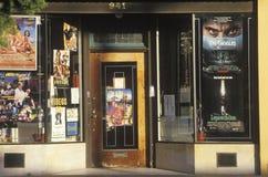 Una tienda video pueblerina, Lompoc, CA fotos de archivo libres de regalías