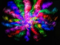 Una tormenta de colores Fotos de archivo libres de regalías