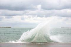 Una tormenta en el mar Imagenes de archivo