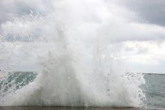 Una tormenta en el mar Imagen de archivo