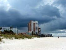 Una tormenta Rolls adentro Fotos de archivo libres de regalías