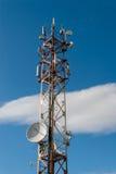Una torre cellulare Fotografia Stock Libera da Diritti