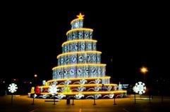 Una torre creativa della lampada Fotografia Stock Libera da Diritti