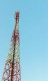 Una torre de las telecomunicaciones Fotos de archivo libres de regalías