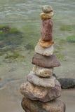 Una torre de piedra imagen de archivo libre de regalías