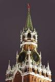 Una torre de Spassky de Kremlin, Moscú, Rusia Imagenes de archivo