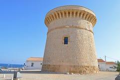 Una torre del reloj fotografía de archivo