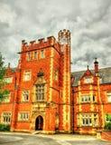 Una torre dell'università della regina Belfast fotografia stock libera da diritti