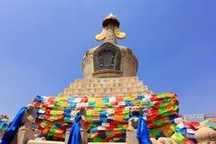 Una torre delle orecchie di Sakyamuni Fotografia Stock Libera da Diritti