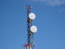 Una torre di comunicazioni nelle isole di granatina Immagini Stock