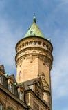 Una torre a Lussemburgo Fotografia Stock
