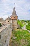 Una torretta del castello Immagine Stock