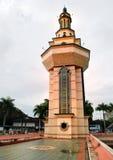 Una torretta di grande moschea Fotografia Stock