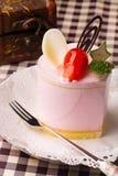 Una torta de la crema batida Fotografía de archivo