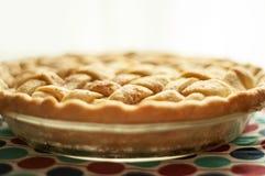 Una torta di mele fresca immagine stock