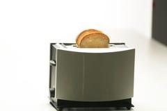 Una tostadora staninless moderna Fotografía de archivo