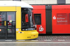 Una tranvía de la calle en Berlín, Alemania Fotografía de archivo libre de regalías