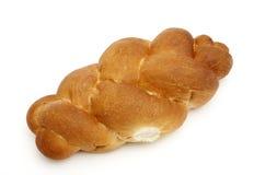 Una treccia su pane bianco fotografia stock