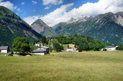 Valle nel Ticini in Svizzera Fotografie Stock Libere da Diritti