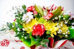 Una variedad de amor florece al principio de la primavera Imagenes de archivo