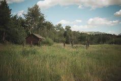 Una vecchia baracca Fotografie Stock