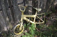 Una vecchia bicicletta Fotografia Stock