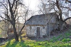 Una vecchia casa Fotografia Stock Libera da Diritti