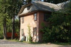 Una vecchia casa Fotografia Stock