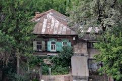 Una vecchia casa Fotografie Stock