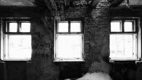 in una vecchia casa abbandonata Immagine Stock Libera da Diritti