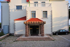 Una vecchia casa a Qingdao, Cina Immagini Stock Libere da Diritti