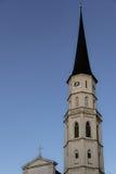 Una vecchia chiesa a Michaelerplatz, Vienna Fotografie Stock Libere da Diritti