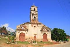 Una vecchia chiesa in Trinidad Fotografia Stock Libera da Diritti