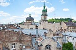 Una vecchia città Immagine Stock