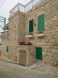 Una vecchia costruzione di sguardo in Fassuta- Israele Immagine Stock